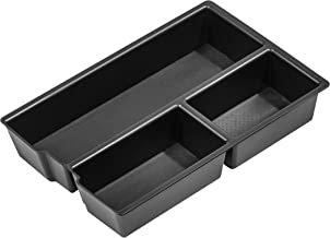 Vehicle OCD - Lower Center Console Organizer Tray for Dodge RAM 1500 (2009-18) and RAM 2500/3500 (2010-18) (Full Console w/Bucket Seats ONLY) - Made in USA