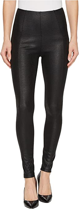 Reese Ankle Leggings in Reptile/Black