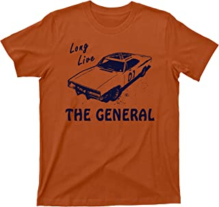 General Lee T Shirt 1969 Dodge Charger Dukes of Hazzard Tee