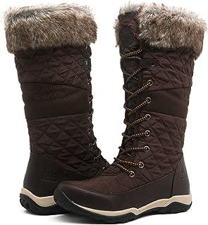GLOBALWIN Women's Fashion Snow Boots