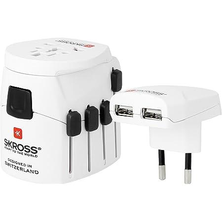 Skross Pro World Usb Reiseadapter Inklusive Elektronik