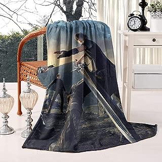 Unicorns Farting Flannel Fleece Blanket Ultra Soft All Season Final-Fantasy-Game-xv-Poster- Living Room Blanket White Throw Blanket Baby Blanket