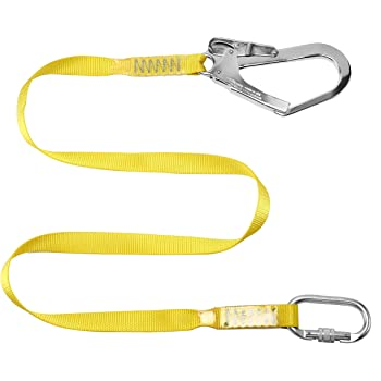 1.5m Safety Lanyard 22KN Outdoor Sports Harness Belt Lanyard Dynamic Rope