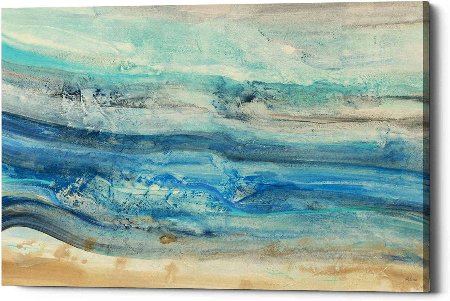 Epic Graffiti Ocean Waves' by Wall Limited time for free shipping Albena Giclee Canvas Price reduction Hristova