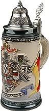 Beer Stein by King - Deutschland CoA Full Relief Rustic German Beer Stein 0.4l Limited