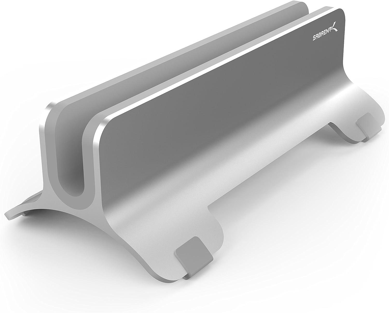 Max 41% OFF Sabrent Aluminum Vertical Laptop New color MacBook Holder Stand AC-HLDS