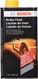 Best Bosch ESI6-32N Brake Fluid (Direct Replacement for DOT 3, DOT 4, and DOT 5.1) - 1 Quart Review