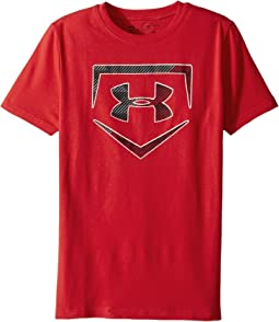Baseball Logo Short Sleeve Tee (Big Kids)