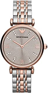 Emporio Armani Ladies Wrist Watch, Silver AR1840