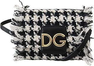 Dolce & Gabbana sac femme bandoulière DG millennials noir