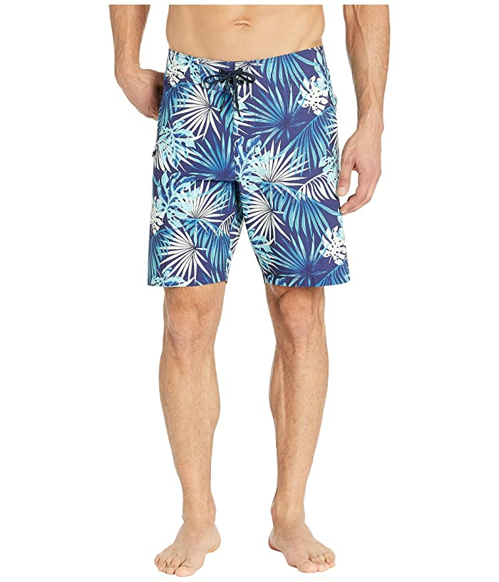 Tommy Bahama North Shore Lago Leaves Swim Trunk (Island Navy) Men