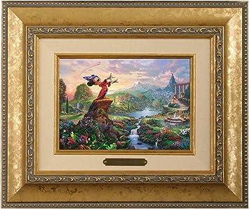 Thomas Kinkade Disney Fantasia Brushwork Burl