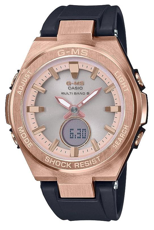 マイルストーン急勾配の実業家[カシオ]CASIO 腕時計 BABY-G ベビージー G-MS 電波ソーラー MSG-W200G-1A1JF レディース