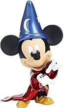 Jada Metals Metalfigs Disney Sorcerer's Apprentice Mickey 6-Inch Diecast Collectible Toy Figure Statue, 6