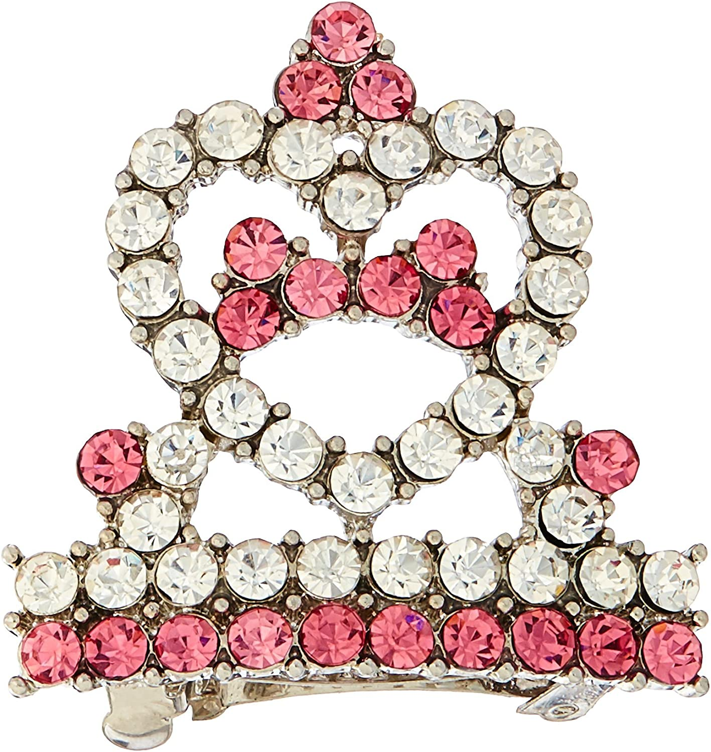 Mirage Pet Products Tiara Barrette Hair Pink High New sales quality