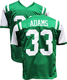 Authentic Jamal Adams Autographed Signed Custom Green Jersey (JSA Witness COA) New York Jets