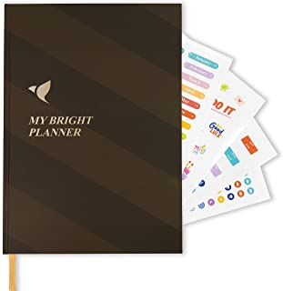 $20 » Mybright Planner - Smart Goal Setting Planner and Organizer. Simplified Best Self to Increase Productivity, Happiness & Su...