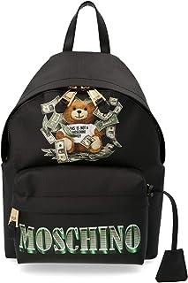 Luxury Fashion | Moschino Womens A763682103555 Black Backpack | Fall Winter 19