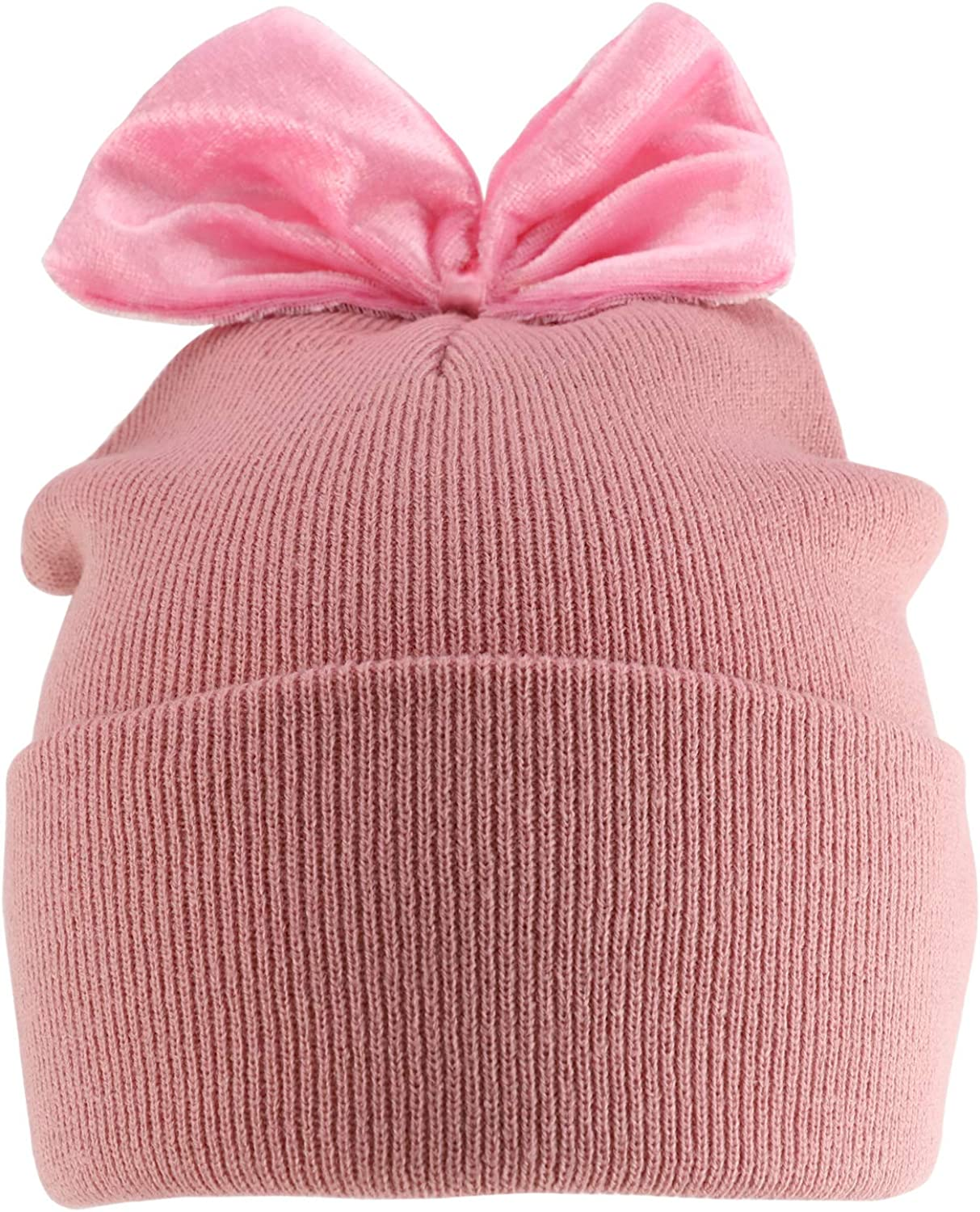 Trendy Apparel NEW Surprise price before selling Shop Youth Size Girl's Cuff Accent Lon Bow Velvet