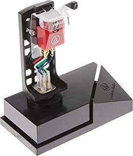 """Audio Technica VM540ML/H Dual Moving Magnet Phono Cartridge/Headshell Combo Kit with MicroLine Stylus 1/2"""" Mount  (Black/Red)"""