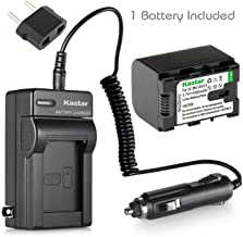 [Fully Decoded] Kastar BN-VG121 Battery (1-Pack) and Charger Kit for JVC Everio GZ-E Series, GZ-EX Series, GZ-HD Series, GZ-HM3 Series and GZ-MG750, GZ-MS110, GZ-MS230, GZ-MS250, GZ-G3, GZ-GX1, GZ-GX8