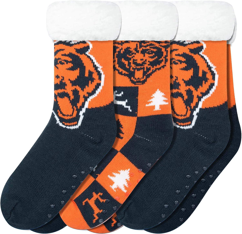 FOCO NFL Womens Team Logo Fan New color Pack Footy OFFer 3 Socks Slipper