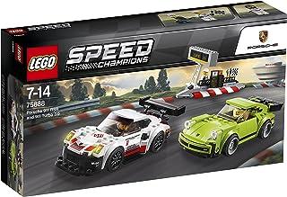 LEGO Speed Champions Porsche 911 RSR i 911 Turbo 3.0 75888 zabawka konstrukcyjna