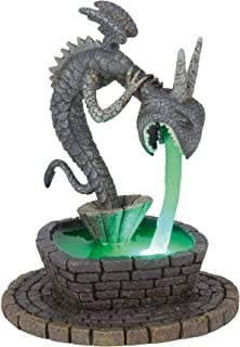 Department56 Nightmare Before Christmas Village Accessories Town Square Fountain Lit Figurine, 5