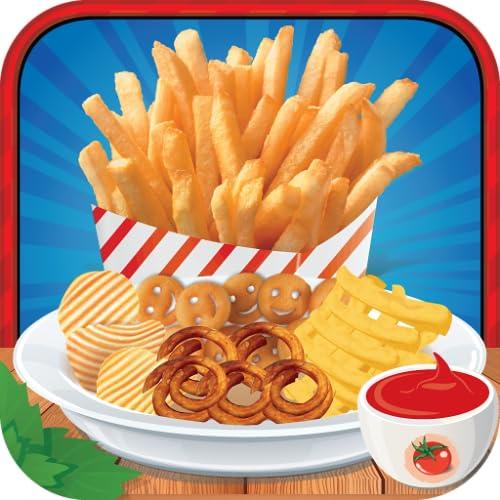 Potato French Fries Maker Chef