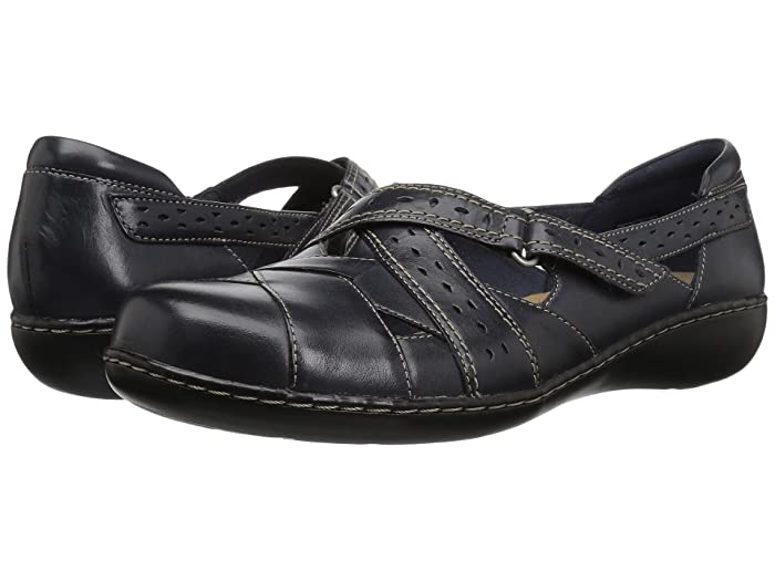 Clarks  Ashland Spin Q (Navy) Womens  Shoes