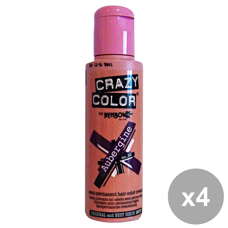 下手ゆりかご成熟したCRAZY COLOR(クレイジーカラー) 100ml [全26色よりお選び下さい] アレス/ヘアマニキュア/サロン専売品 (【50】オウベルジーン)
