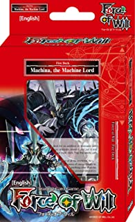Force Of Will Machina The Machine Lord (Flame) FOW Alice Cluster Twilight Wanderer Starter Deck - 51 Cards