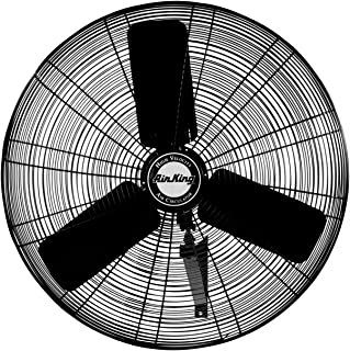 Air King 9025 24-Inch Industrial Grade Oscillating Wall Mount Fan