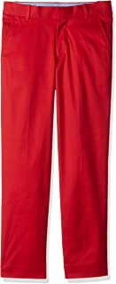 Tommy Hilfiger Boys' Flat Front Twill Dress Pant