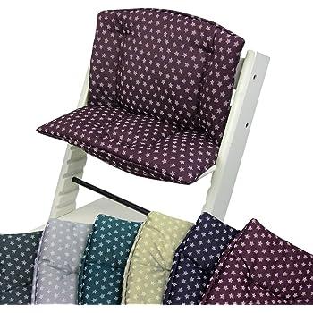 Little Sweetz ** TRIPP TRAPP Set DESIGN ** Coussin dassise et r/éducteur de si/ège pour chaise haute Compatible avec Tray Table