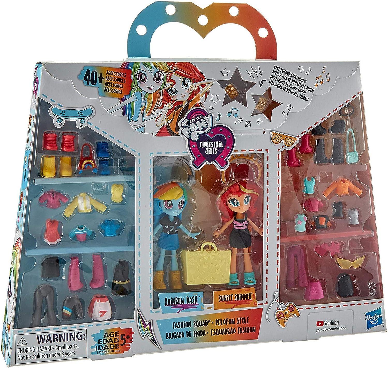 My little Pony Hasbro Equestria Girls, Fashion Freundinnen Rainbow Dash und Sunset Shimmer