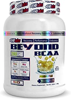 EHP Labs Beyond BCAA Pineapple (1lb) Recovery, Performance, Endurance - 50 Servings