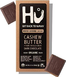 Hu Chocolate Bars | 12 Pack Cashew Butter Vanilla Bean Chocolate | Natural Organic Vegan, Gluten Free, Paleo, Non GMO, Fai...