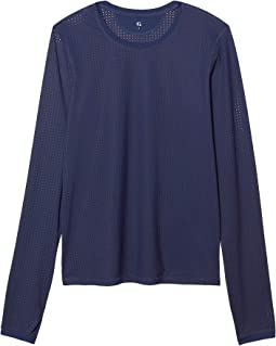 Long-Sleeve Mesh Tee