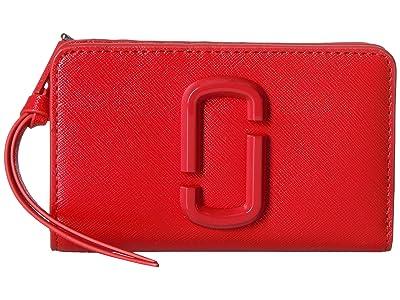 Marc Jacobs Snapshot DTM Compact Wallet (Geranium) Wallet Handbags