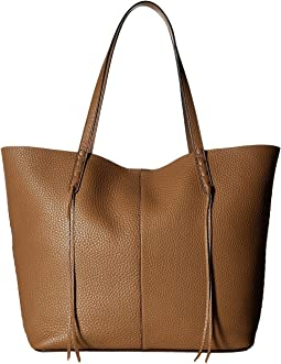 Medium Unlined Tote with Whipstitch