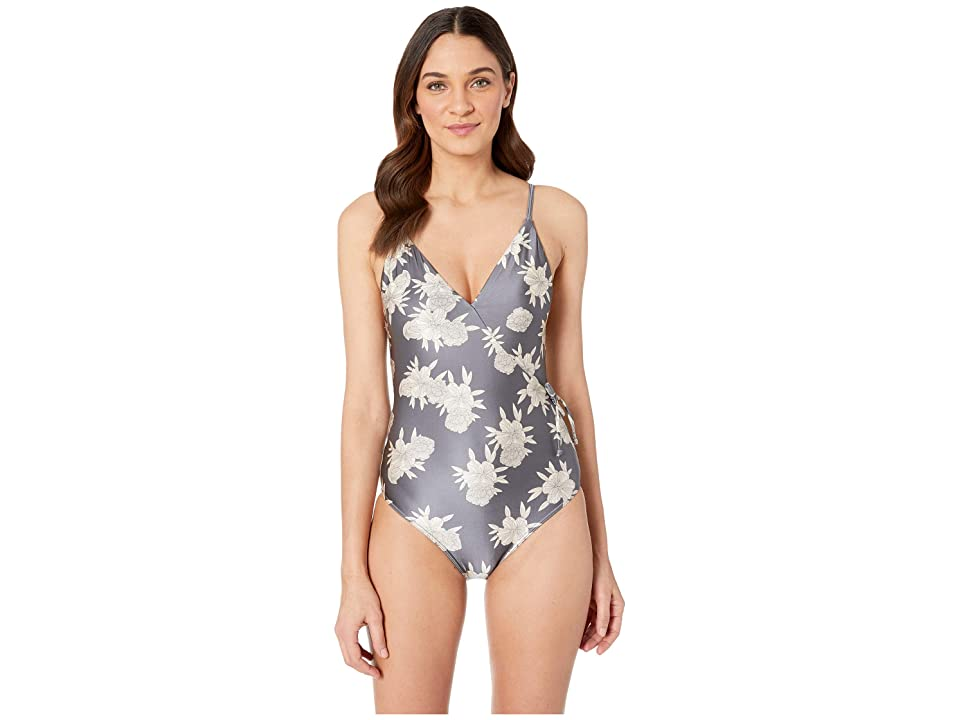 Roxy Romantic Senses One-Piece Swimsuit (Turbulence Rose and Pearls) Women