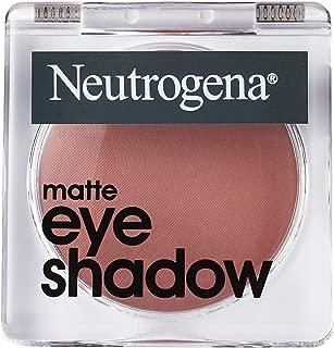 Neutrogena Matte Eye Shadow With Antioxidant Vitamin E, Easy-to-apply Eye Makeup With A Matte Finish, Dusty Mauve, 1.0 Oz