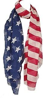 American Flag Scarf, poncho, wrap.