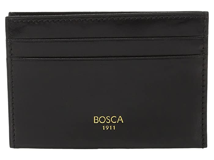 Bosca  Old Leather Collection - Weekend Wallet (Black Leather) Wallet