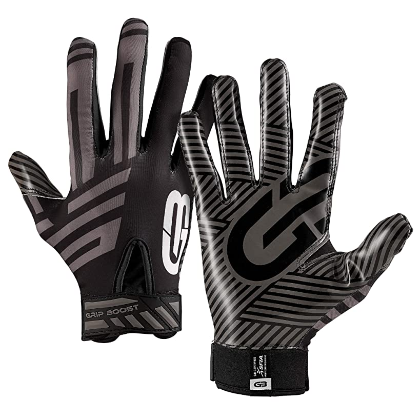 Grip Boost G-Force Football Gloves Adult Men's Football Gloves