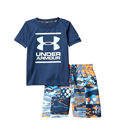 Under Armour Kids Striker PW Volley Set (Little Kids/Big Kids) (Academy) Boy