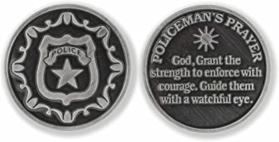 Good Shepherd Creations Pocket Prayer Token (Policeman's Prayer)