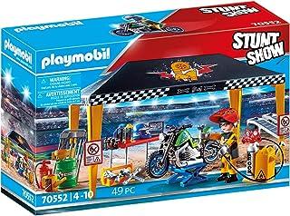 Playmobil Stunt Show Service Tent Multicolor, 28.4 x 18.7...