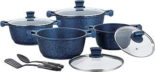 Winsor 10PC cookware set Cast Aluminium Granite and non-stick cookware